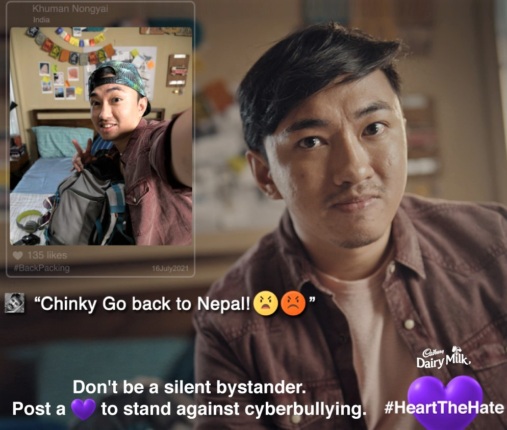 Cadbury Dairy Milk Urges Gen Z to Take A Stand Against Cyber Bullying One 'Purple Heart' At A Time