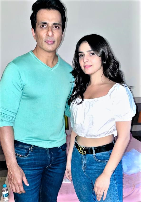 Sidhika Sharma opens up about working with Sonu Sood on his birthday