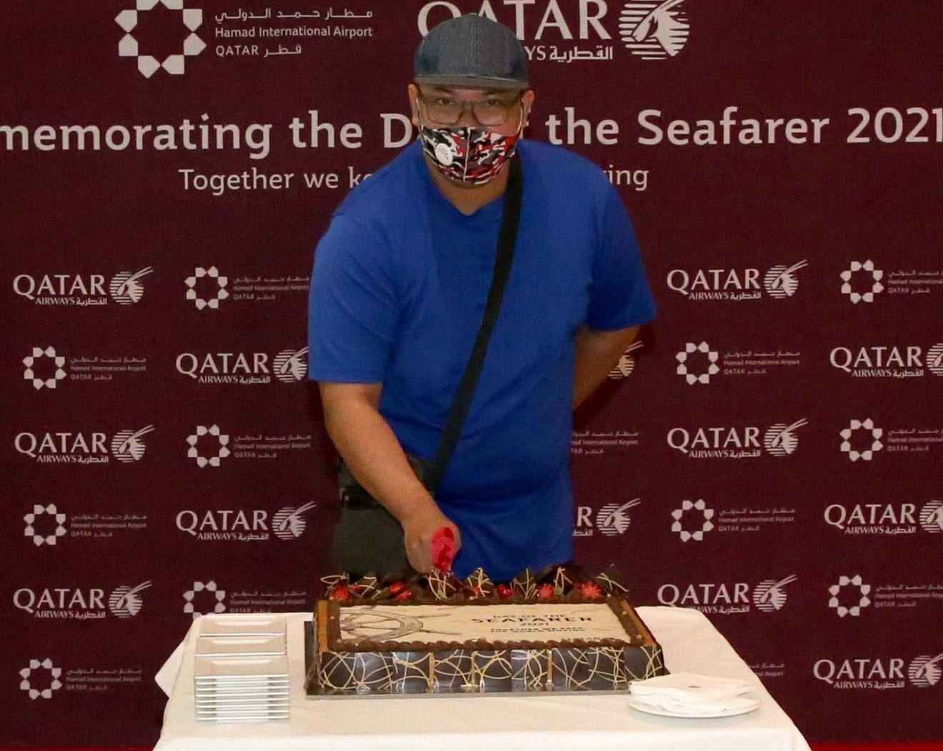 Calm haven for seafarers at Hamad International Airport