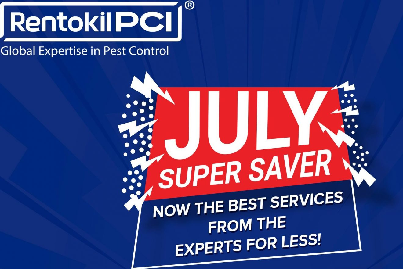Rentokil PCI launches July Super Saver Campaign for Residential Customers