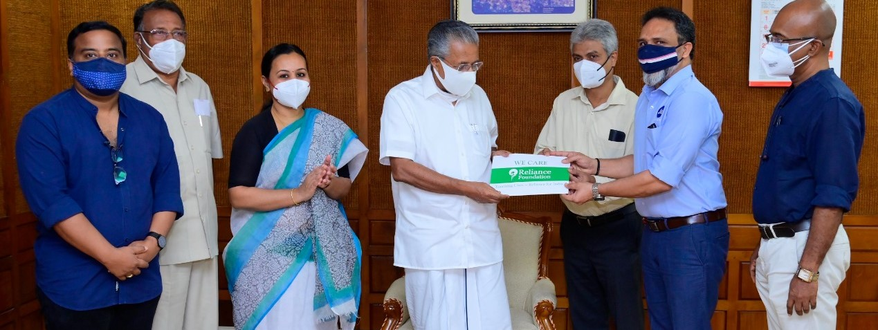 Reliance Foundation provides COVID-19 vaccine doses to the Kerala government