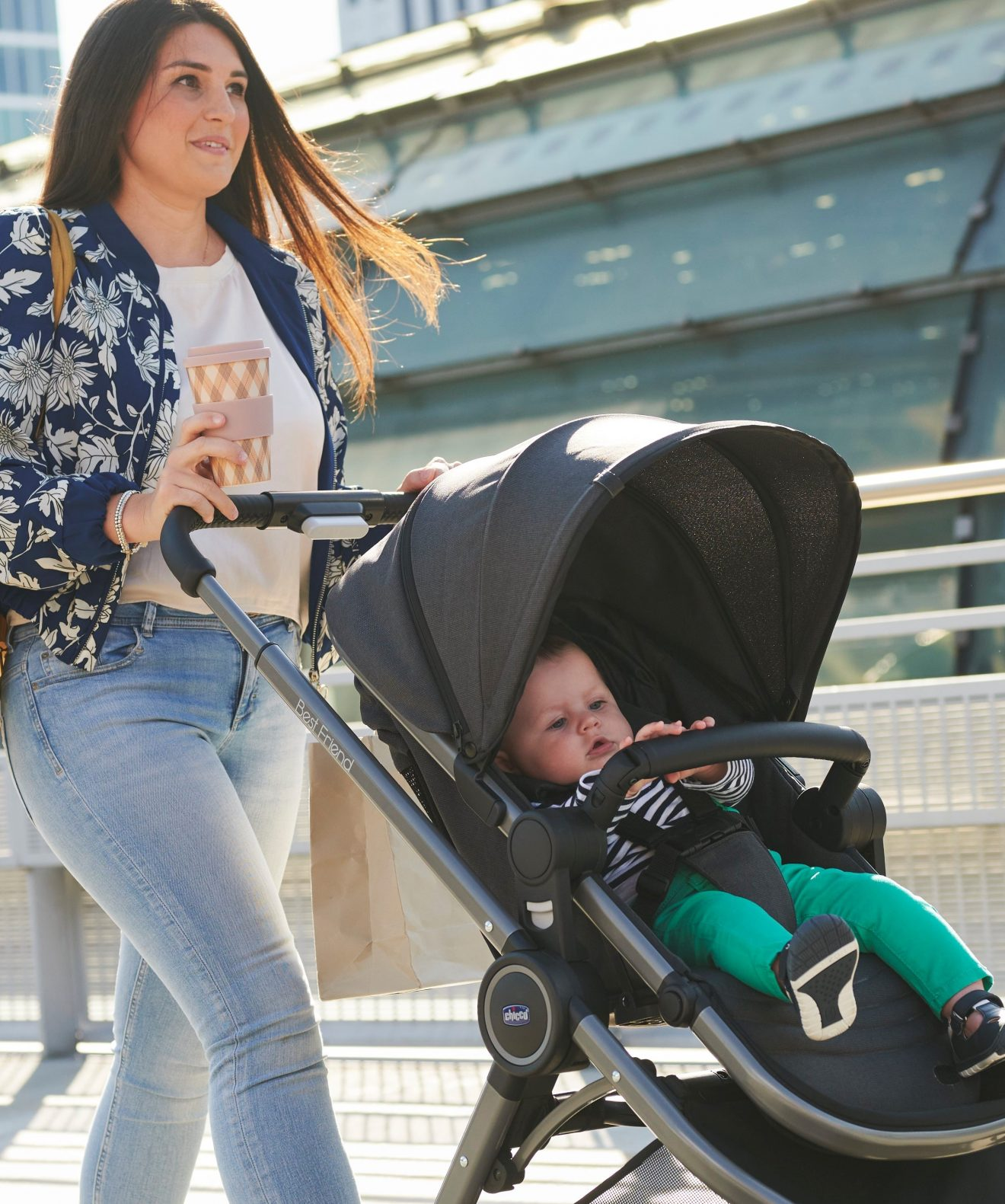 For a comfortable stroll with your little one
