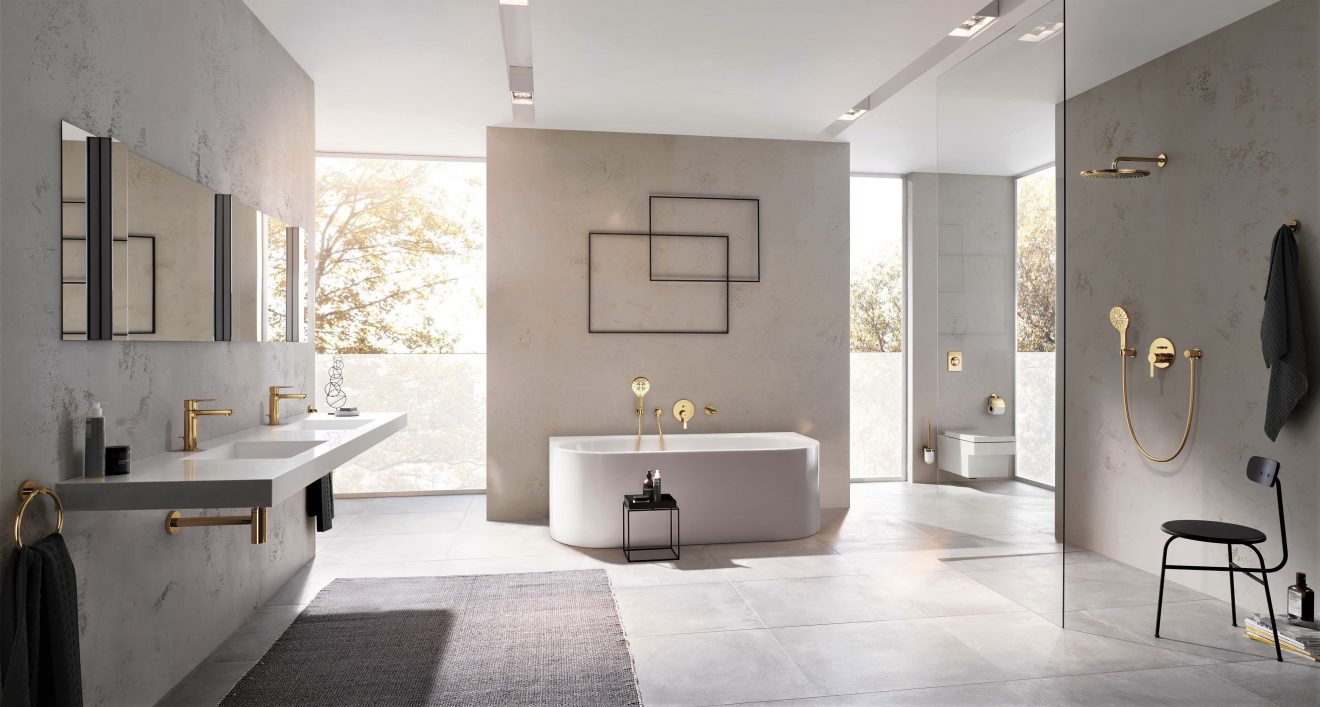 GROHE Lineare: Designed to complement every shape