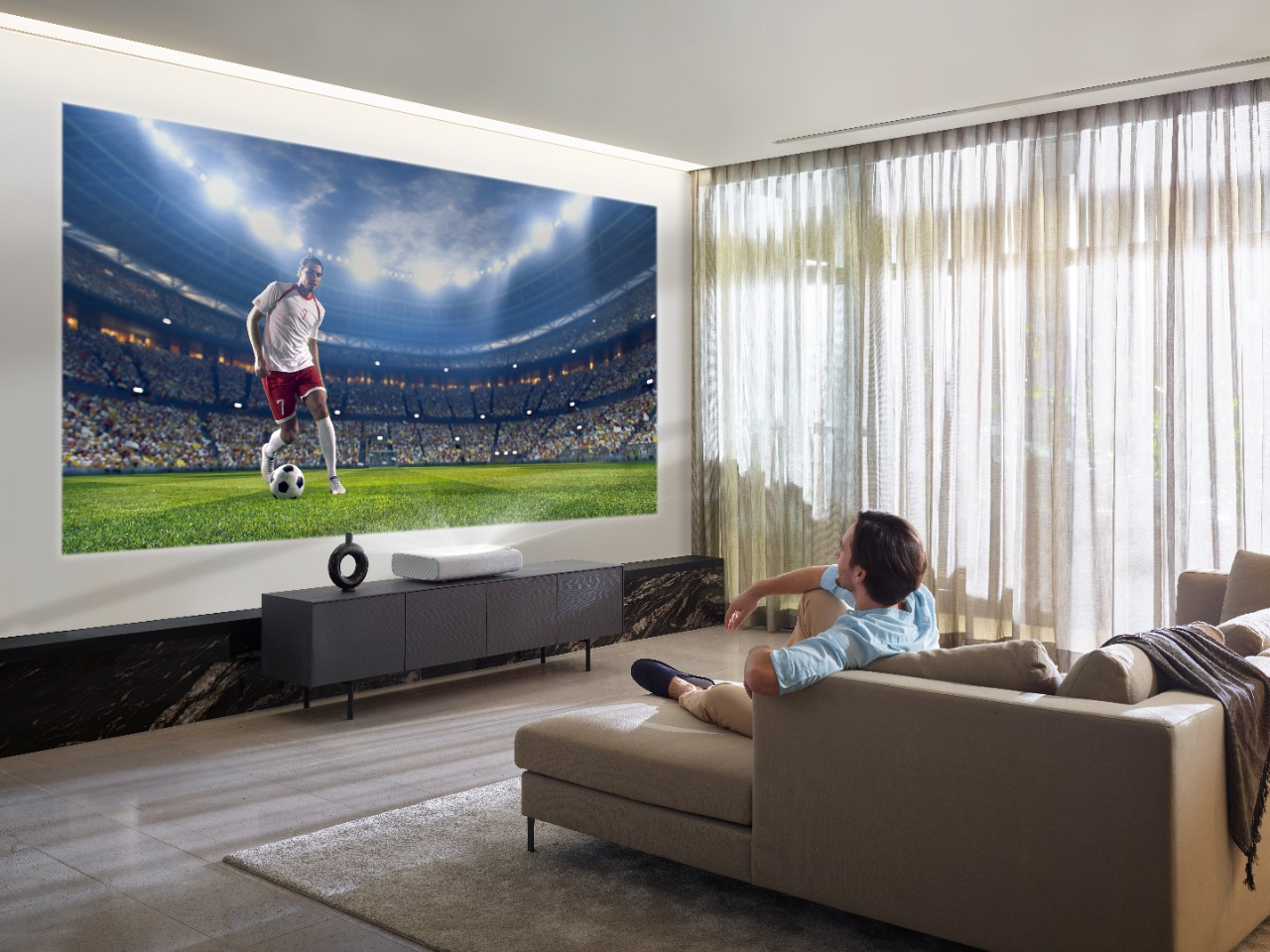 Samsung Brings 'The Premiere' 4K Ultra Short Throw Laser Projector to India