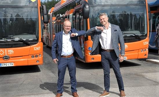 First BYD eBuses arrive in Finnish capital