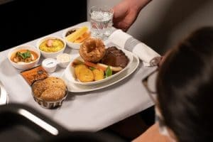 The Traditional British Roast Takes to The Skies with British Airways