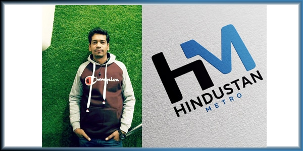 Shivam Madaan Founded His New Venture: Hindustan Metro to become the leading digital news serving platform