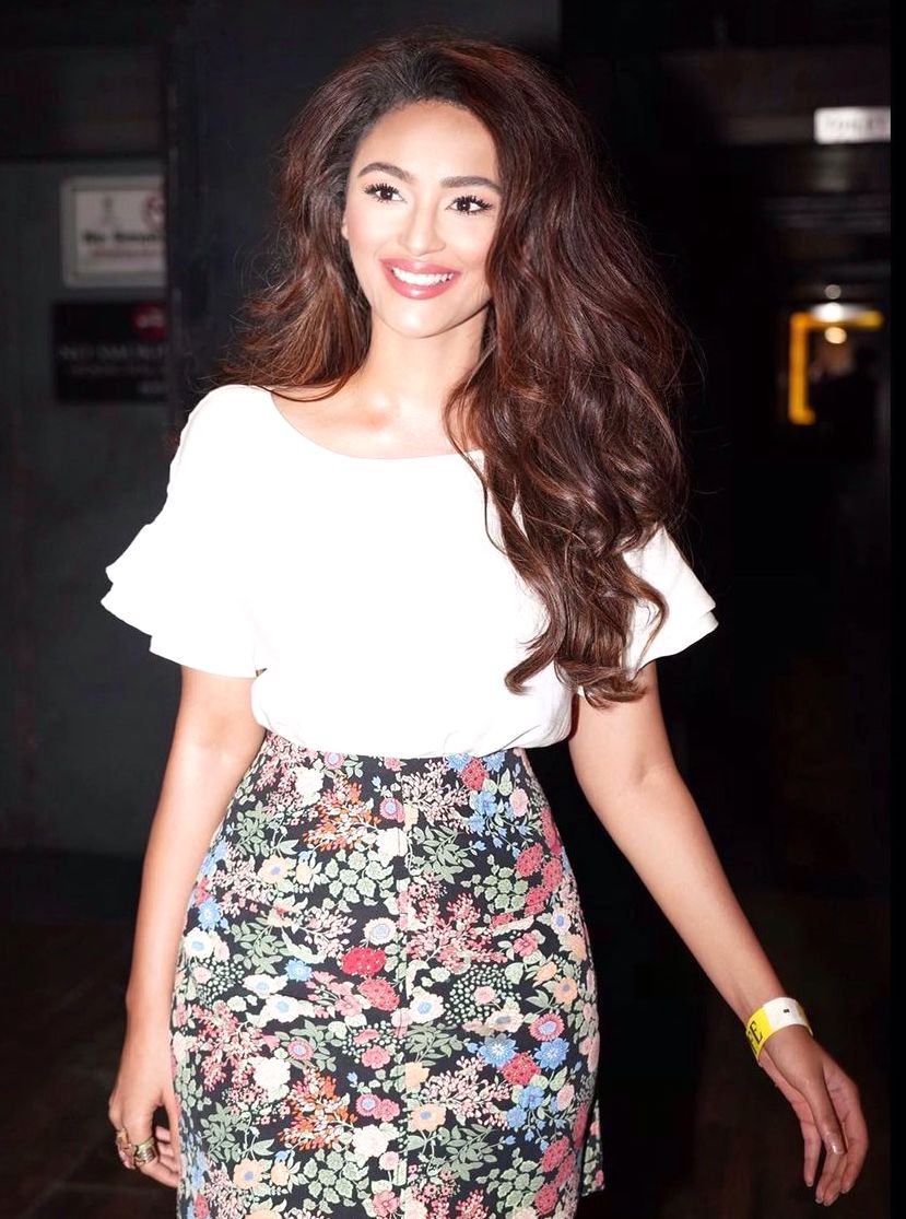 Seerat Kapoor reveals her new look for her upcoming Bollywood film
